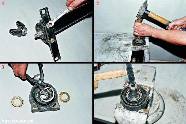 Порядок ремонта карданной передачи