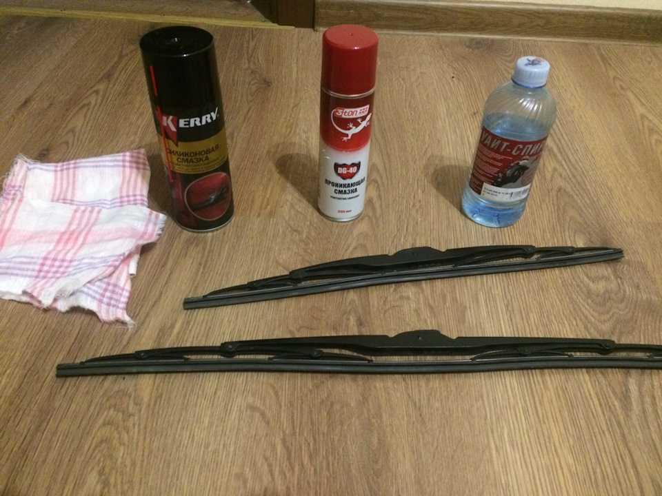 Как отремонтировать щетки дворника автомобиля