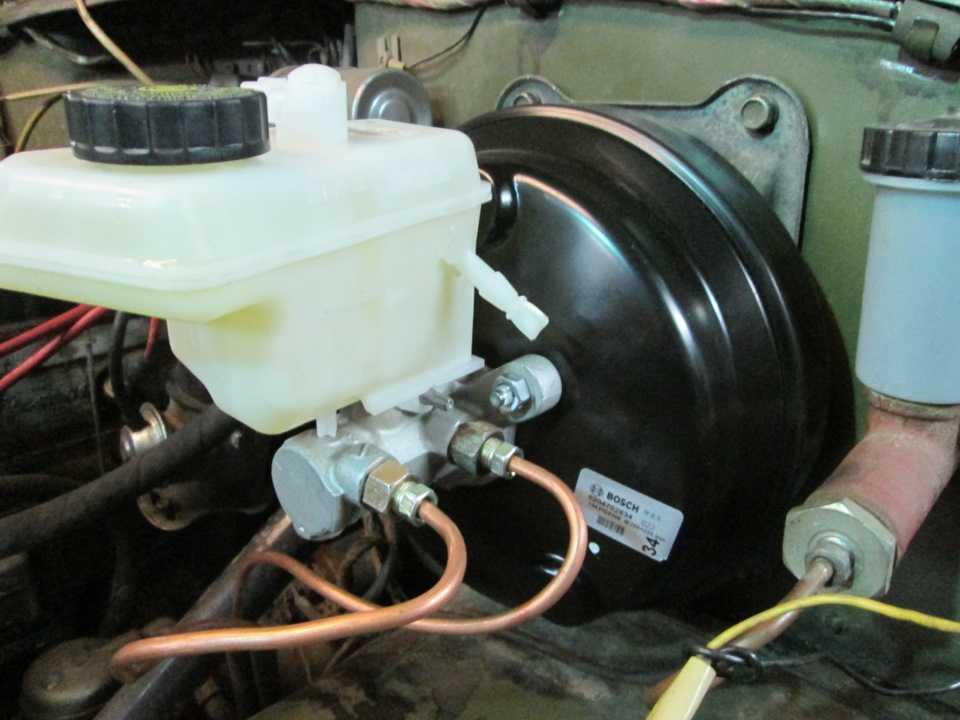 Регулировка вакуумного усилителя тормозов газель