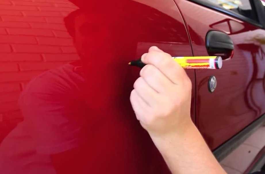Как заполировать царапину на авто своими руками