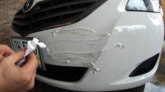 Средства для удаления царапин на автомобиле и как заделать их своими руками
