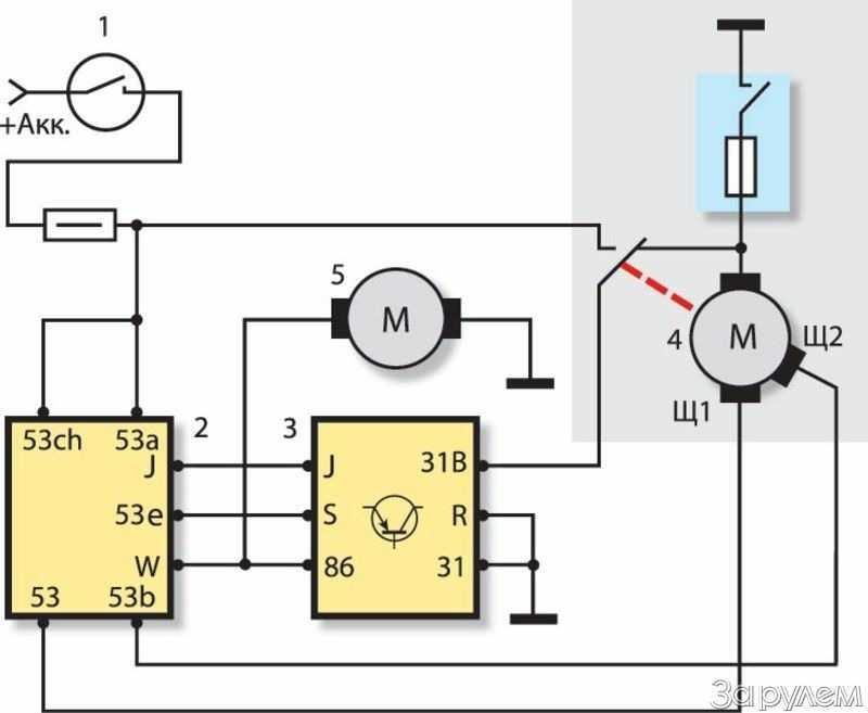 Как проверить стеклоочиститель схема включения на ваз. как сделать программируемый стеклоочиститель