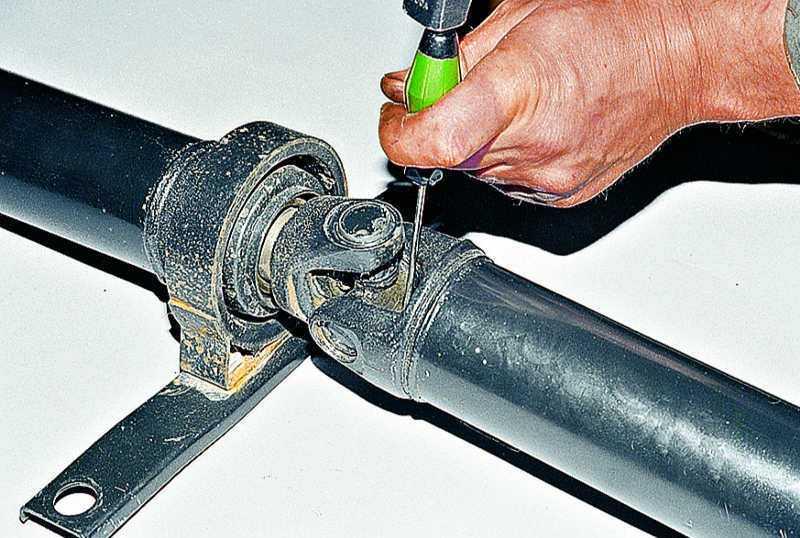 Выбор оборудования и инструмента - ремонт карданной передачи автомобиля ваз-2107 - информация
