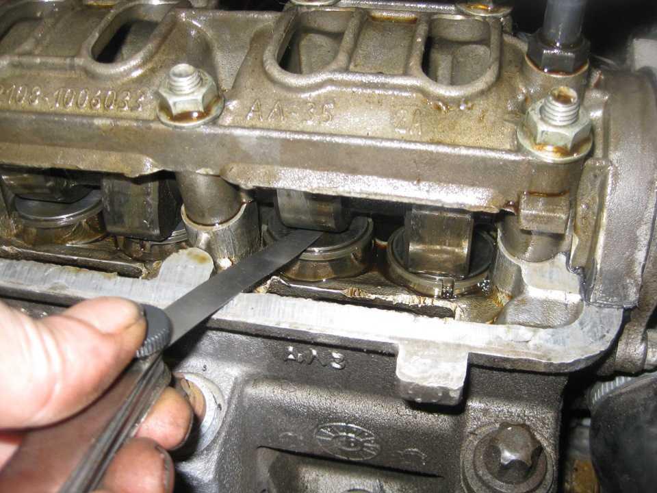 Как отрегулировать клапана на двигателе авто - описание и инструкции