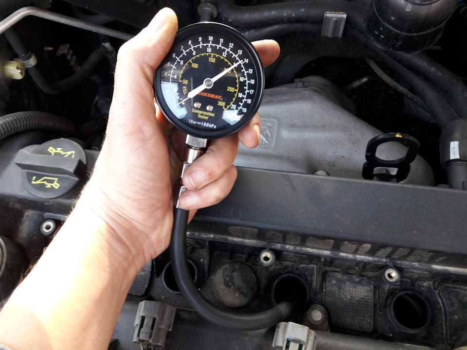 Правильный замер компрессии в двигателе