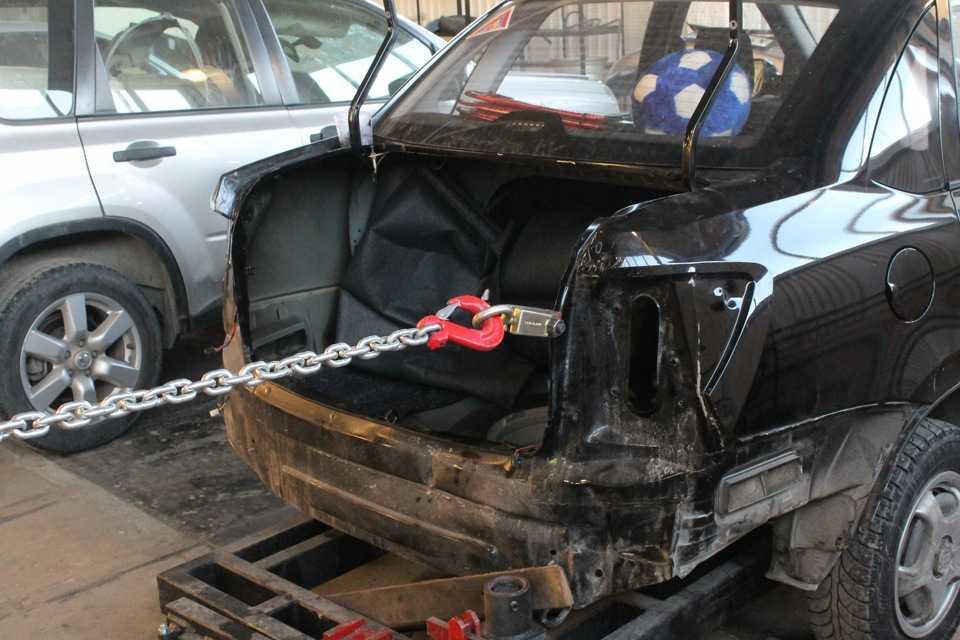 Как вытягивают кузов автомобиля: советы и рекомендации