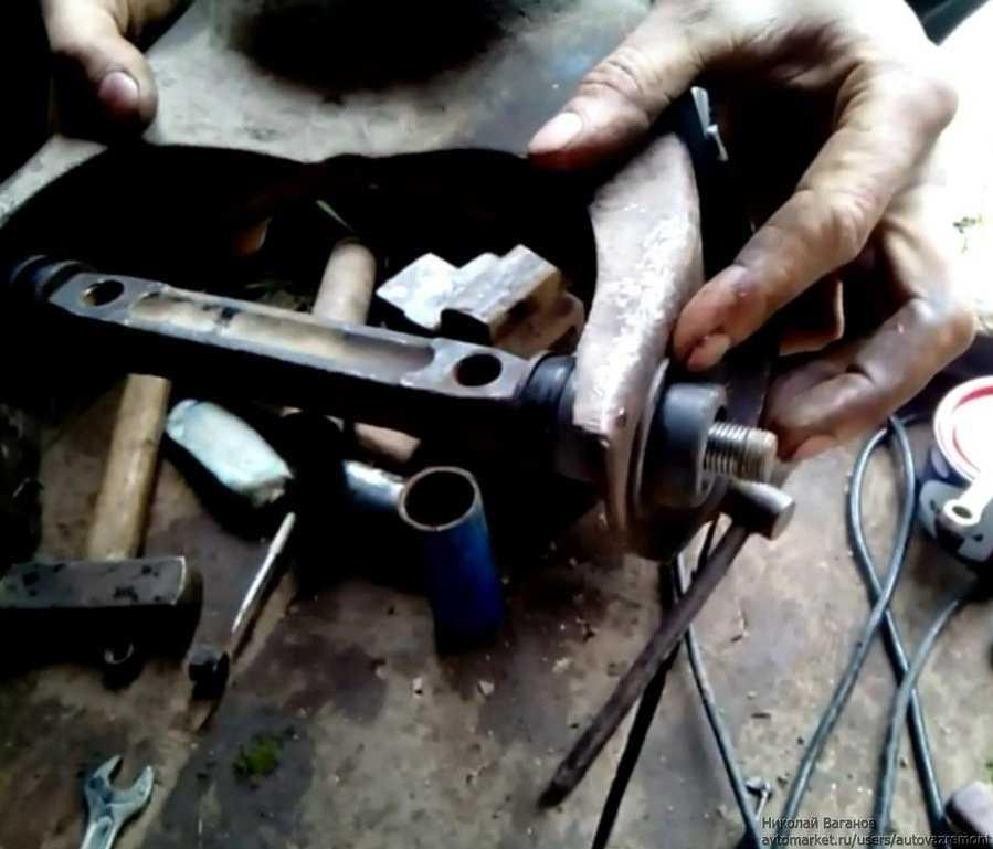 Ремонт дэу ланос замена сайлентблоков рычагов задней подвески daewoo lanos