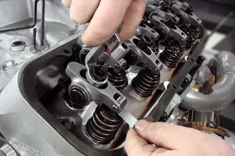 Устройство и принцип работы клапанного механизма двигателя