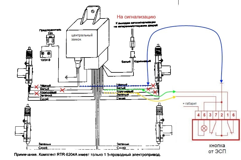 Центральный замок – схема, установка, подключение + видео » автоноватор