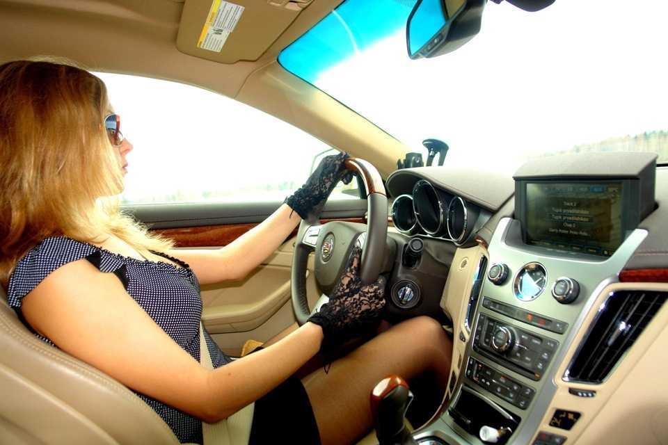 Мифы о женщине-водителе