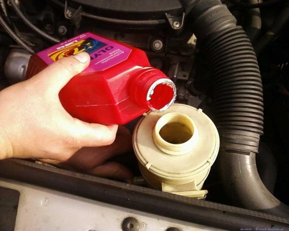 Как поменять масло в гидроусилителе руля - пошаговая инструкция