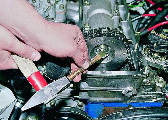 Выполнение работ по ремонту газораспределительного механизма