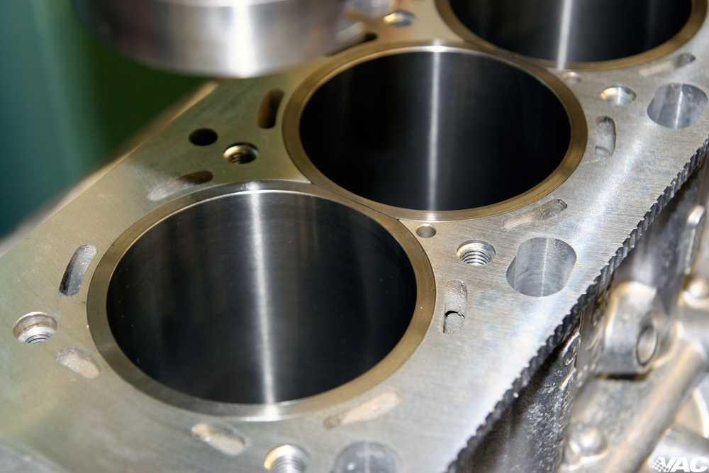 В каких двигателях есть гильзы