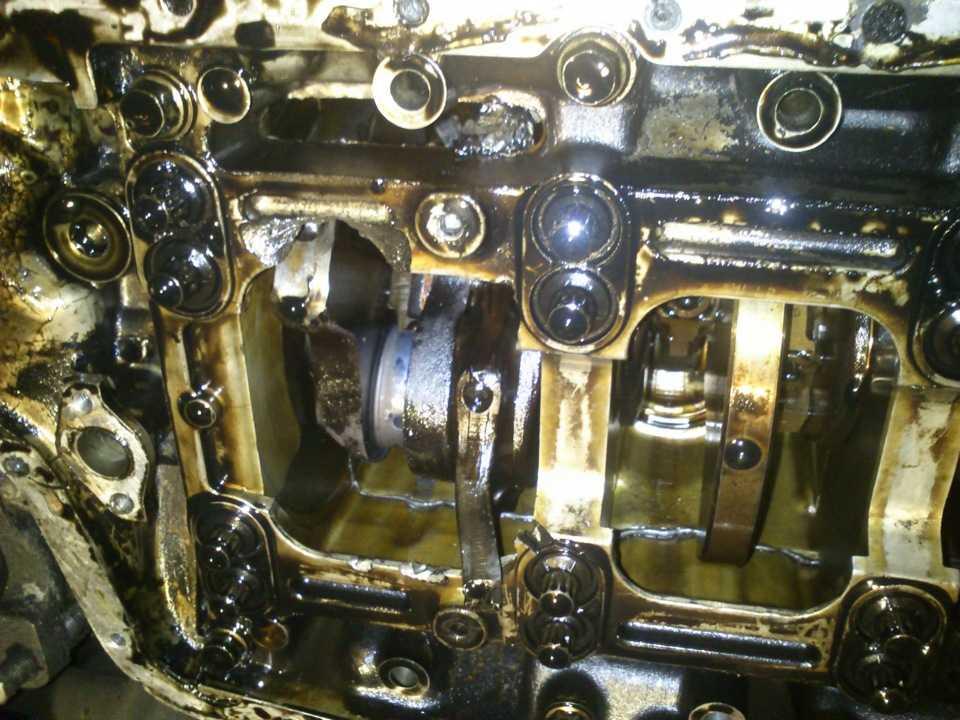 Чистим двигатель от нагара своими руками