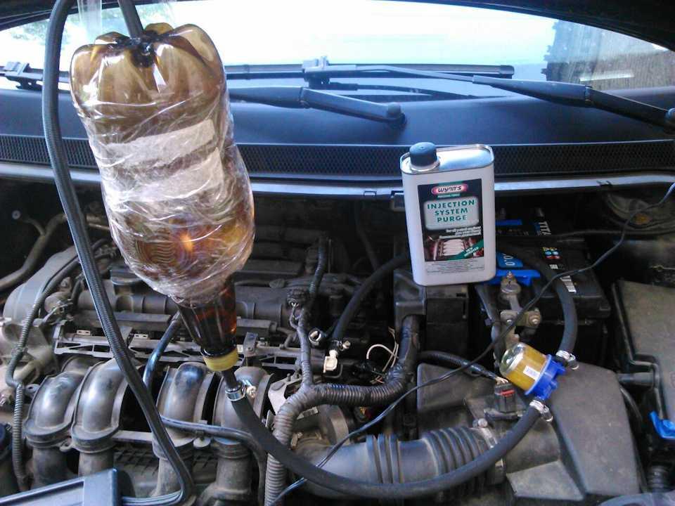 Чем отмыть двигатель от масла и грязи