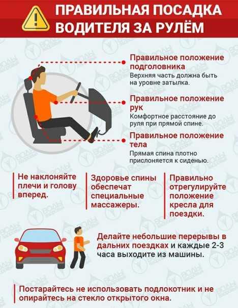 Подготовка к вождению - посадка за рулем, настройка зеркал, руление, переключение передач