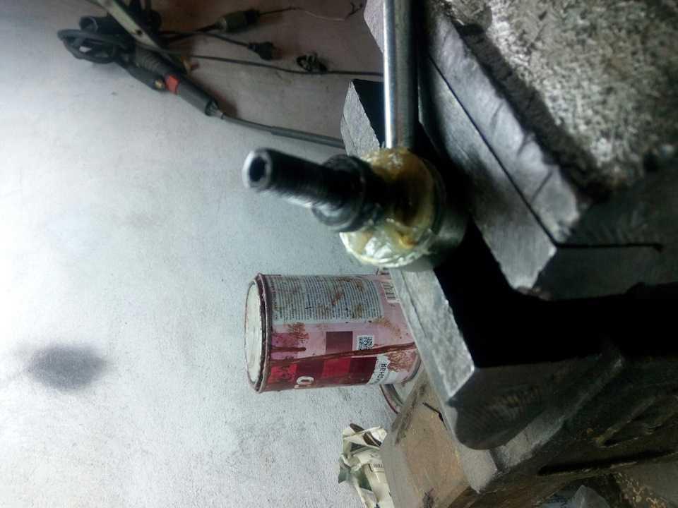Ремонт стоек на ваз 2109 своими руками: основные признаки неисправности (видео)   luxvaz