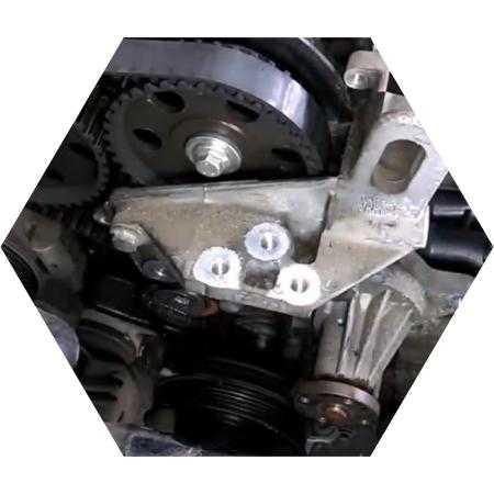 Как заменить ремень грм на форд мондео 2 1.8 бензин своими руками?