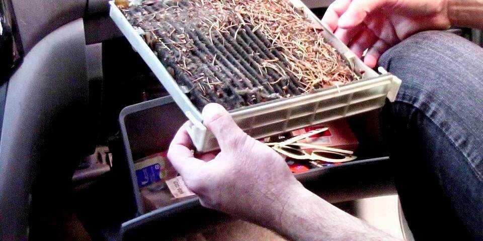 Ремонт радиатора печки и причины его неисправностей