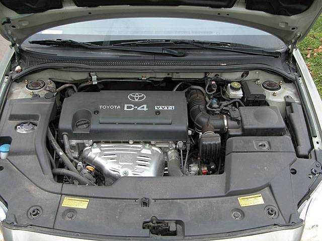 Ресурс двигателя тойота авенсис 1.6, 1.8, 2.0, 2.4