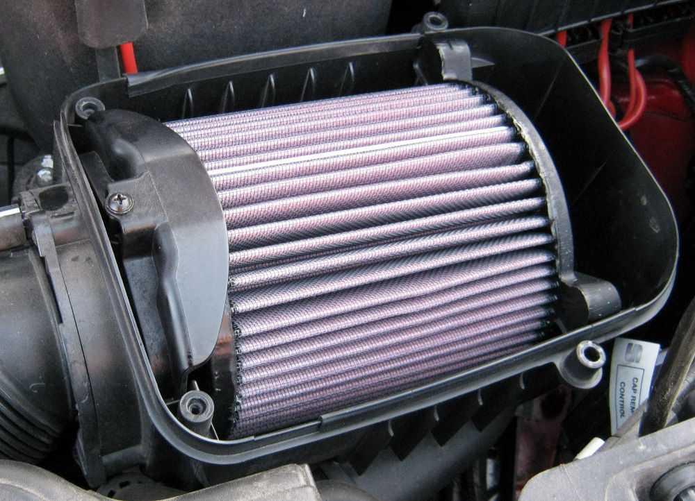 Замена воздушного фильтра своими руками: инструкция