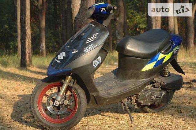 Suzuki zz inch up 100 cc. ремонт