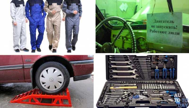 Скачать инструкцию по охране труда при ремонте автомобилей 2020