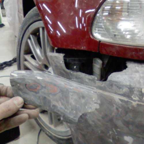 Ремонт бампера автомобиля своими руками! инструкция! фото!