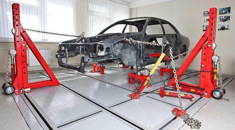 Самостоятельное восстановление повреждённых деталей кузова с помощью рихтовки