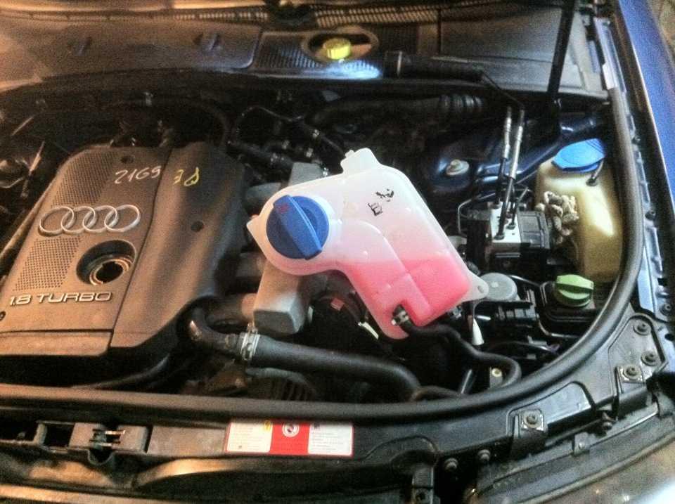 Как заменить масло в двигателе audi a4