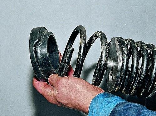 Замена задних пружин ваз 2107 своими руками