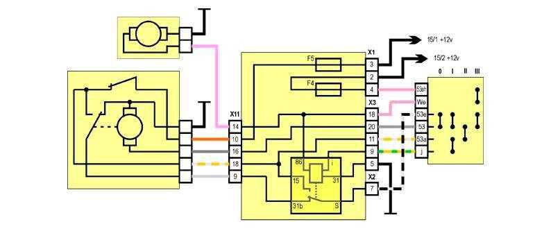 Привод стеклоочистителя (передний, задний) – механизм и работа + видео » автоноватор
