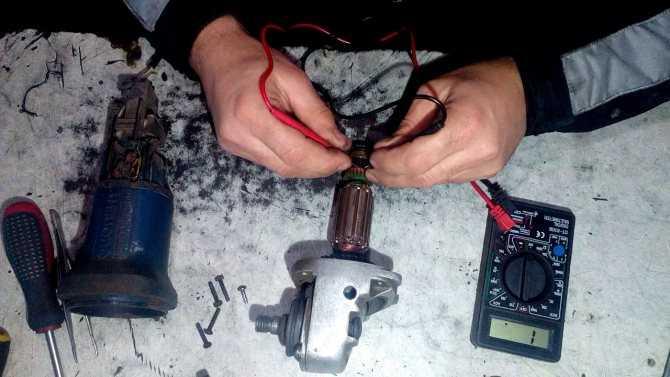 Ремонтируем болгарку своими руками: как разобрать ушм, проверить щетки, заменить статор и прочее + видео