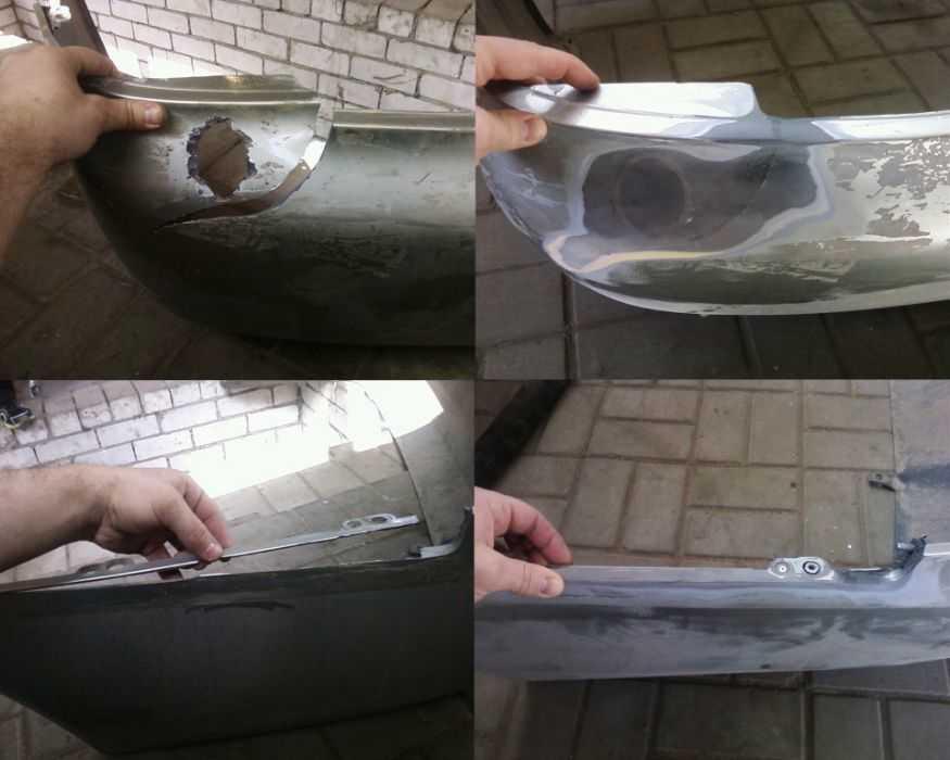 Как провести ремонт пластикового бампера своими руками: все методы восстановления. как самому заделать трещину на пластиковом бампере