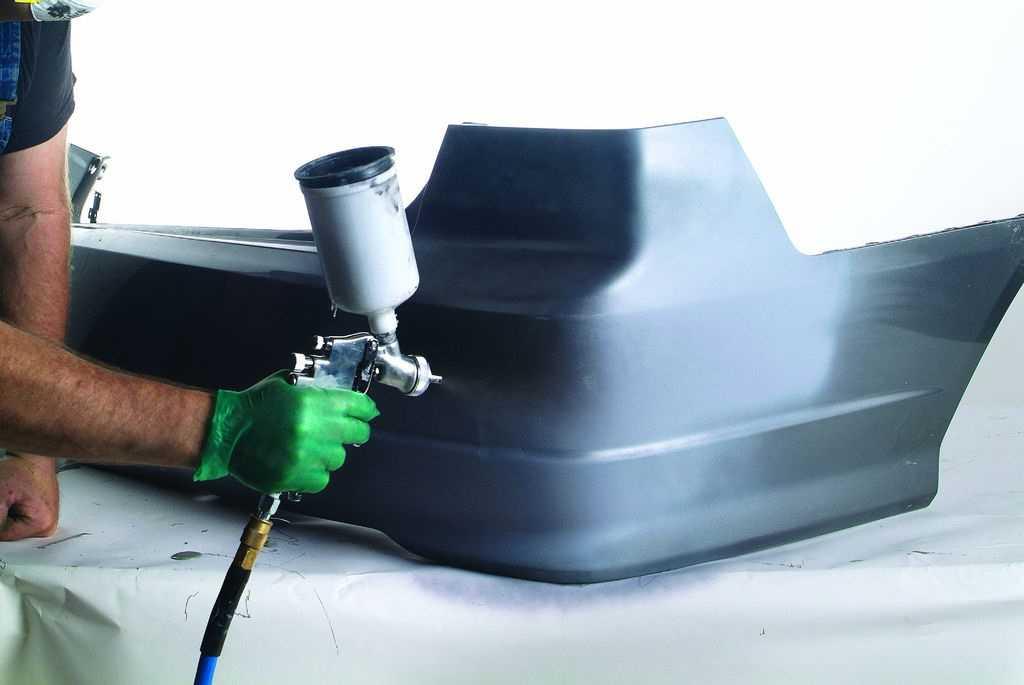 Как отремонтировать бампер своими руками?