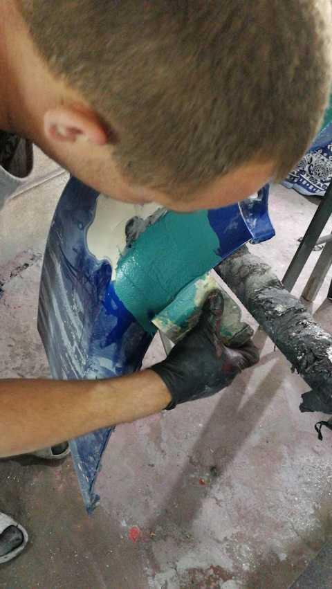 Ремонт бампера из пластика своими руками: видео инструкция