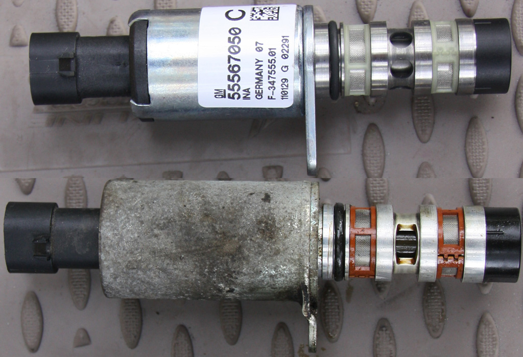 Электромагнитный клапан фаз пежо - замена и особенности работы