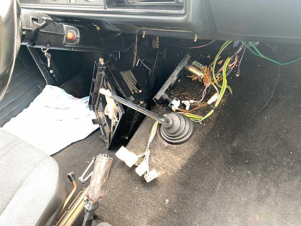 Замена радиатора печки на ваз 2108 (фото и видео)