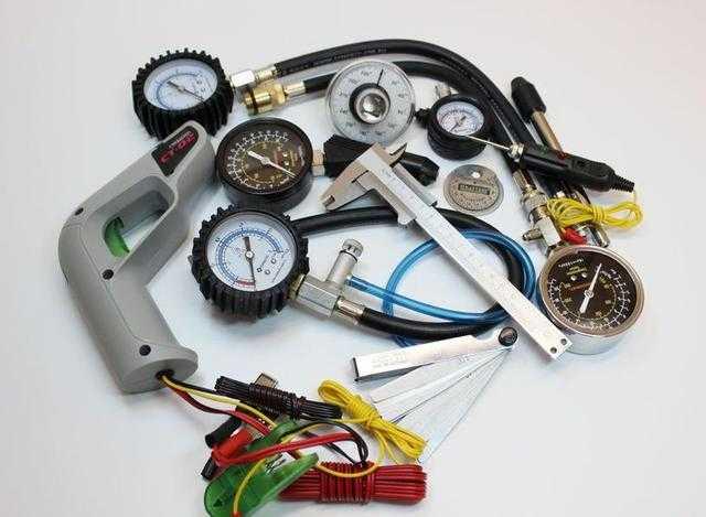 Оборудование, приборы и инструменты, применяемые для диагностирования и ремонта легковых автомобилей