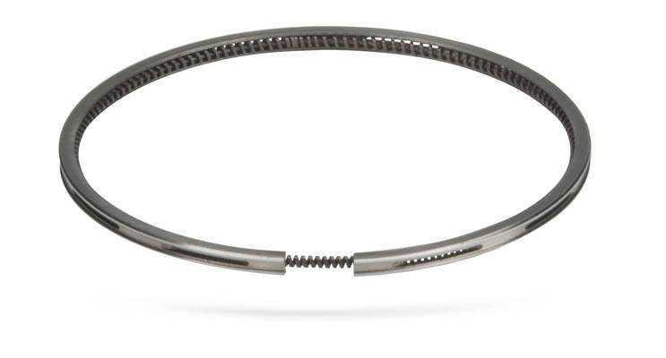 Маслосъёмное поршневое кольцо с повышенной приспособляемостью к стенкам цилиндра  Схемы автомобильные Ремонт авто своими руками