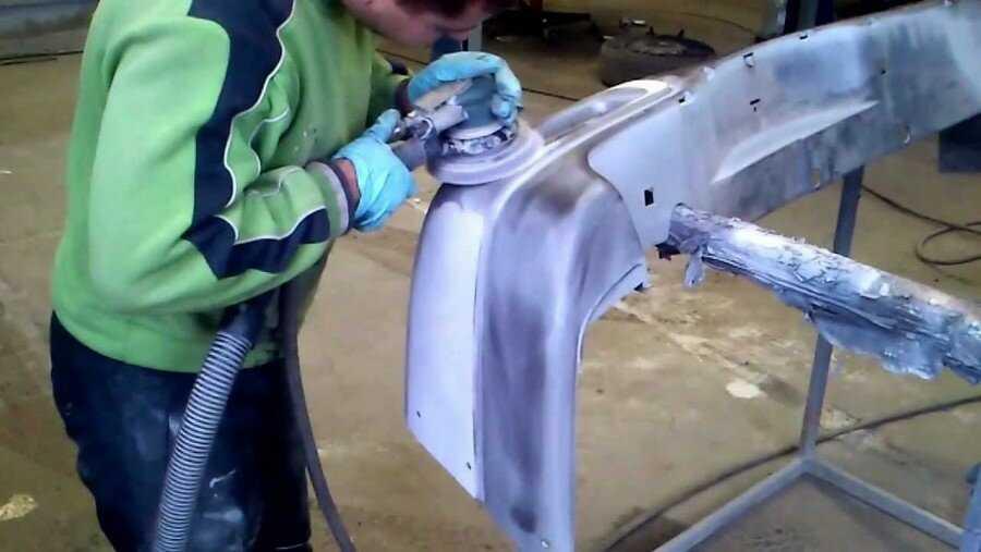 Как отремонтировать бампер своими руками