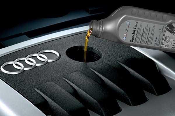 Замена масла и масляного фильтра (для применения на моделе audi а6)