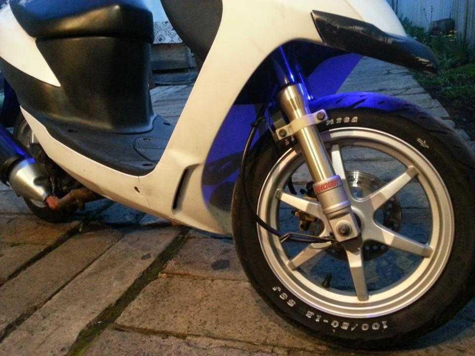 Suzuki zz inch up 100 cc. ремонт | мастерская pitstop