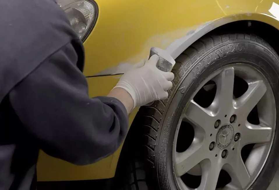 Кузовной ремонт своими руками: просто или сложно?
