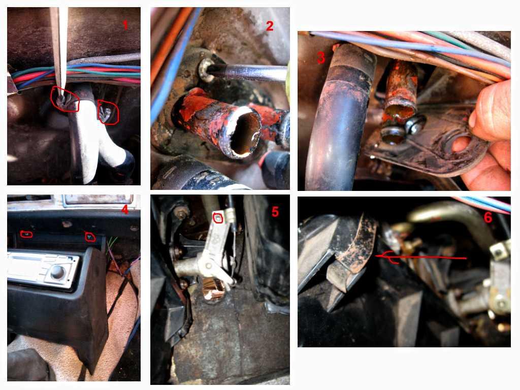 Снятие и замена печки на автомобиле ваз 21099
