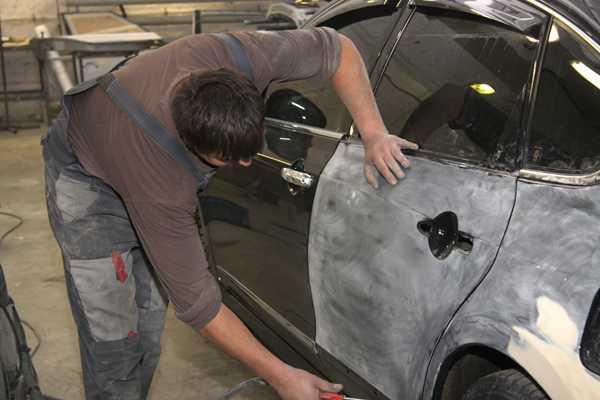 Ремонт кузова автомобиля — пошаговая инструкция для новичков