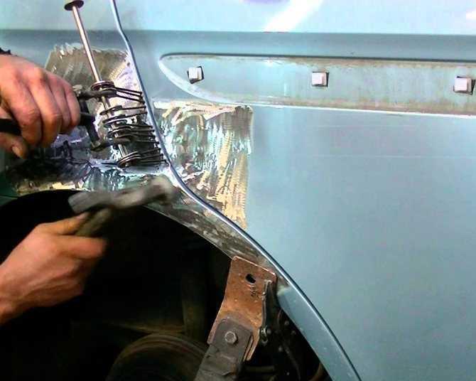 Ремонт кузова автомобиля своими руками: технология