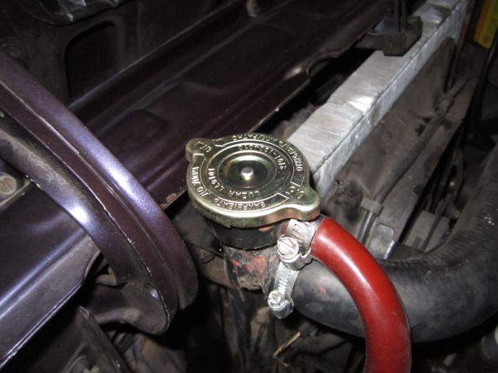 Технические обслуживание системы охлаждения мотора