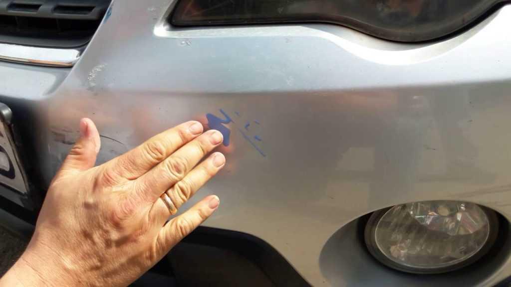 Ремонт царапин автомобиле своими руками