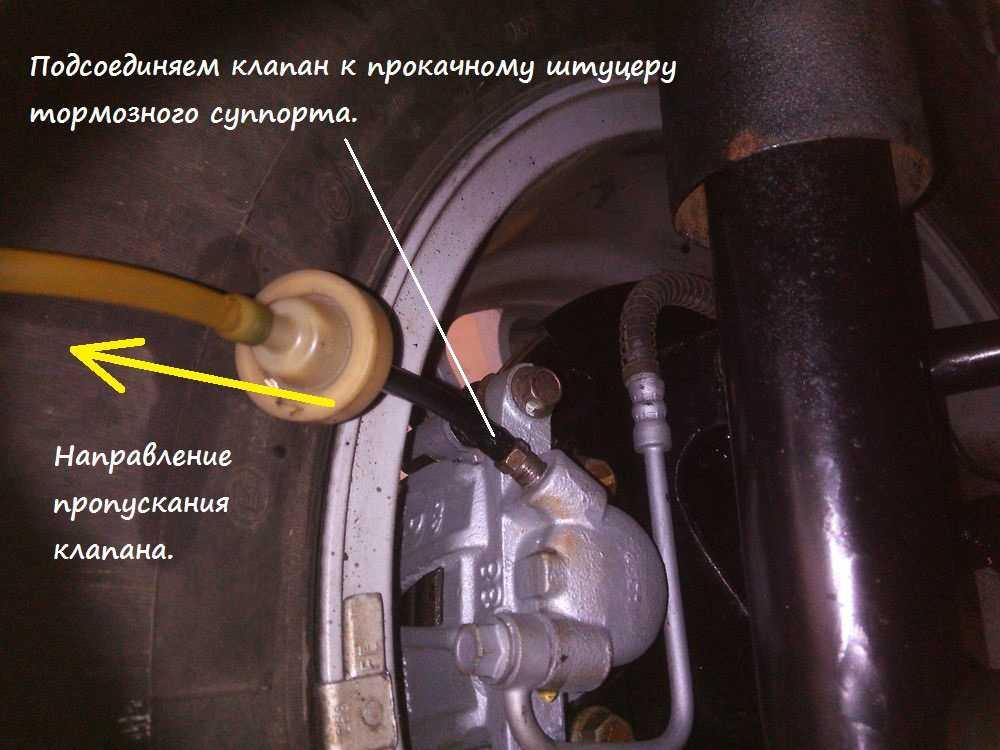 Прокачка тормозной системы: пошаговая инструкция